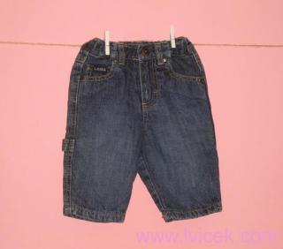 Džínové kalhoty s bavlněnou podšívkou H&M